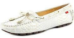 Marc Joseph New York Women's White Gold Anaconda.