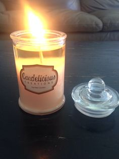 Candelicious Sample Orange Blossom and Buttercream Candle