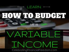 My income can vary greatly from month to month.  Here's a great way to make a budget when your income varies with every paycheck.  #budget #Income #howto  http://www.cfinancialfreedom.com/how-do-you-budget-on-a-variable-income