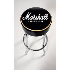 Marshall Bar Stool Marshall Guitar, Marshall Amplification, Cool Bar Stools, Kitchen Aid Mixer, Game Room, Musicals, Instruments, Music Production, Cool Stuff