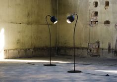 Love the quirky feel of this light : Ogle - Floor | Ateljé Lyktan
