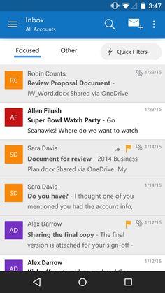 Outlook fait peau neuve sur Android et iOS en s'appuyant sur l'application Acompli - http://www.frandroid.com/applications/265241_outlook-fait-peau-neuve-sur-android-et-ios-lapplication-acompli  #ApplicationsAndroid, #Microsoft