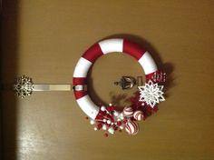 Yarn Christmas Wreath