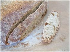 crusty bread...mmmm for bruschetta!