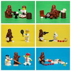 ALWAYS let the Wookie win!...