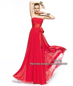 Aliexpress.com : Buy New Arrival 2015 Evening Gown V Neckline Sexy Front Split Waist Beaded Sleeveless Open Back Red Long Evening Dresses Prom Dress from Reliable Evening Dresses suppliers on Lilytown's Wedding Store | Alibaba Group
