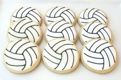Volleyball Cookies | Flickr -