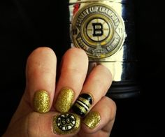 Bruins nails for the Stanley Cup Finals! #bruins
