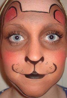 Face Paintings: Face Painting Bear
