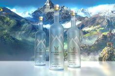 Vodka label design by Label Design Vancouver Vancouver, The Best Vodka, Media Design, Label Design, Vodka Bottle, Behance Net, Drawings, Barcelona, Gallery