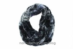 Faux fur scarves recently made the top 10 gift list in an upscale magazine. Not wanting to pay the over the top price for this latest fashion trend, we decided to share our easy sewing tutorial. Th...