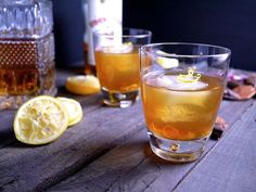 Black tea, rum, and brandy all combine for serious potency in this Charleston Dragoon's Punch, from @aprildendy at Barbells & Bellinis's version of a historic Southern-style punch. http://thestir.cafemom.com/food_party/190044/10_bigbatch_cocktails_for_your