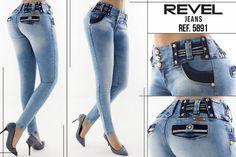 Pathymodas: Pantalón jeans colombiano levanta cola