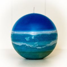 Ocean Globe Candle by TheCandleAlchemist on Etsy