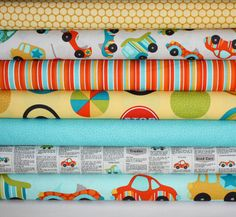 Peak Hour Fabric by Kelly Wulfsohn for Riley Blake by fabricshoppe, $22.00    Baby Blanket for Baby Ezra?