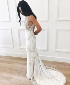 "1,581 Likes, 68 Comments - Jane Hill (@janehillbridal) on Instagram: ""V I C T O R I A • Final fitting shot of this incredible custom design! Stay tuned for more photos…"""