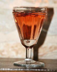 recette Vin de Groseilles (apéritif)