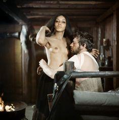 """Jean-Louis Trintignant e Vonetta McGee in """"Il grande silenzio"""" (1968)"""
