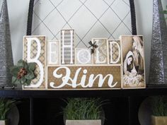 "Megity's Handmade: Christmas in July - ""Behold Him"" Kits Now Available"