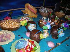 party,anniverssaire,fête,décoration,tahiti,limbo,idée