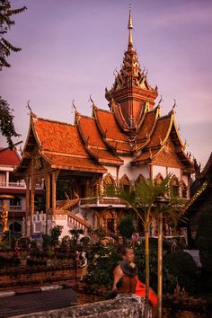 Wat Buppharam, Chiang Mai, Thailand.
