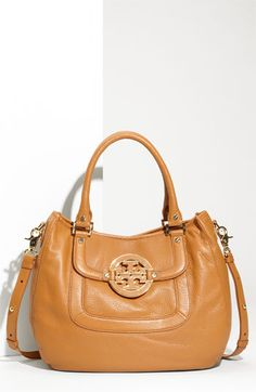 yea. I went there, and I am totally in love. Meet the new addition to my family...Tory Burch 'Amanda' Leather Hobo | Nordstrom