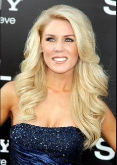 Gretchen Rossi hair.