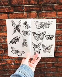 #artjournal #sketchbook Moleskine Sketchbook, Sketchbooks, Art Journal Pages, Art Journals, Create Your Own, 21st, It Is Finished, Butterfly, Joy