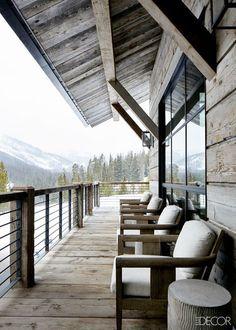 Montana Ski Chalet! #mountain #mountainhouse #mountainhousedecor #homedecor #homedecorideas