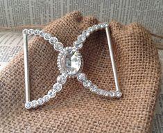 floral crystal buckle wedding diy craft diy bouquet by ShyMyrtle