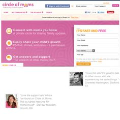 Are you a Mom looking for connection and support?  Got a Mom question... Here's a great website for moms of all kinds....