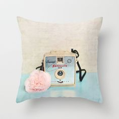 Imperial Satellite Throw Pillow by Sylvia Cook Photography - $20.00