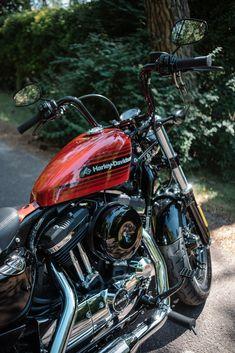 Harley Davidson News – Harley Davidson Bike Pics Harley Sportster 48, Amf Harley, Harley Bikes, Old Harley Davidson, Harley Davidson Pictures, Harley Davidson Motorcycles, Harley Davison, Bobber, Blue Motorcycle