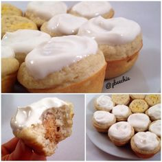 Ripped Recipes - Lemon Cream Pie Mini Muffins - Moist and dangerously poppable!