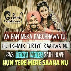 Lyric Quotes, Sad Quotes, Hindi Quotes, Girl Quotes, Quotations, Lyrics, Romantic Shayari, Romantic Quotes, Punjabi Captions