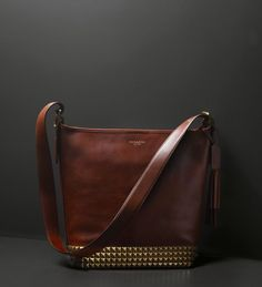 The Legacy Archival Duffle in Studded Leather from Coach