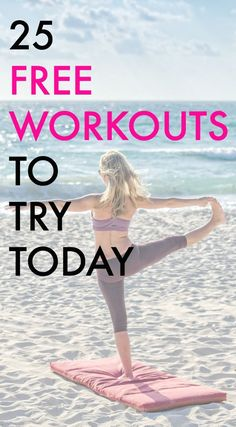 Looking for free workouts? These workouts come from fitness bloggers - no fees or subscriptions necessary! #fitnessjourney #fitness #workouts #freebies #challenge
