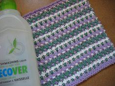 Ravelry: Tricolour Dishcloth pattern by Ali Green