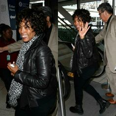 Angela Bassett Spotted At Lax Airport