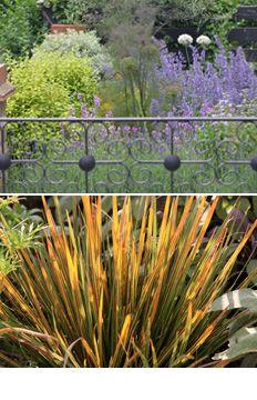 Edwardian town garden.