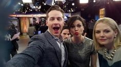 That's better, Josh Dallas! Nice #duckface, Lana Parrilla! Lovely Jennifer Morrison. How mysterious, Colin O'Donoghue! For more great GMA Twitter Mirror pics, CLICK HERE: http://gma.yahoo.com/photos/twitter-mirror-1395165719-slideshow/