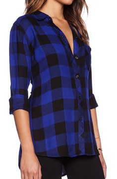 black and blue check button down  http://rstyle.me/n/v2zdapdpe
