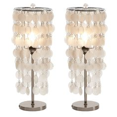 Aislin Capiz Table Lamp | Joss & Main