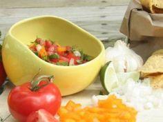 Salsabol: Salsa Bowl - Dip Bowl with Spill Proof Lip
