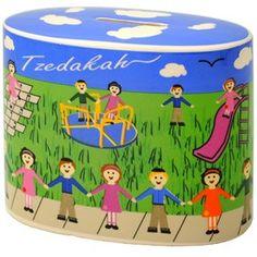 Kids in the Park Tzedakah Box Product - The Jewish Museum Shops