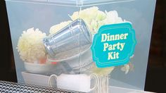 Make Your Own Reusable Dinner Party Kit
