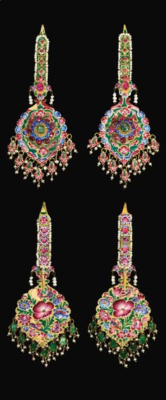 Persia   Pair of lar