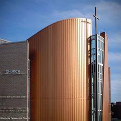 Woodvale Pentecostal Church - Barry J. Hobin and Associates Architects #architecture #design #church