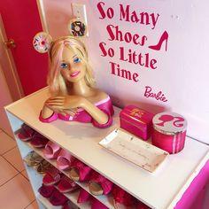 #shoebox #somanyshoessolittletime #barbie #barbiegirl