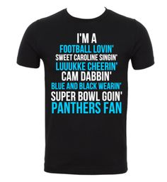 Limited Edition Carolina Panthers Super Bowl T-Shirt